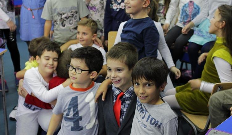 Снимање спота за школску химну