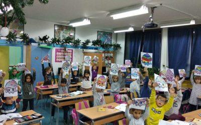 Креативни час првака са специјалним педагогом школе